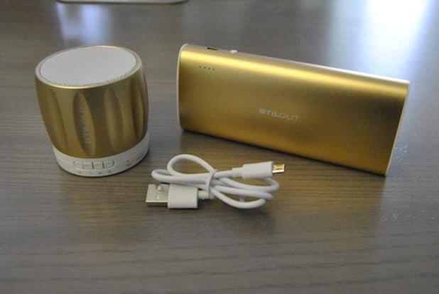 Bluetooth Lautsprecher und Powerbank von StilGut - Foto: EL/ARKM