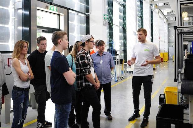 """Photo of WAGO begrüßt potenziellen Nachwuchs zum """"Tag der Ausbildung"""""""