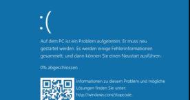 Microsoft überarbeitet Fehlermeldungen bei Abstürzen mit Windows 10