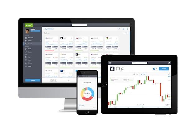 Photo of Trader Charts, Editor's Choice und erweiterter Newsfeed: eToro erweitert Social Trading App