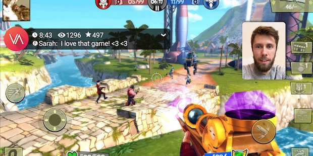 VYDA-App integriert mobiles Live-Gaming