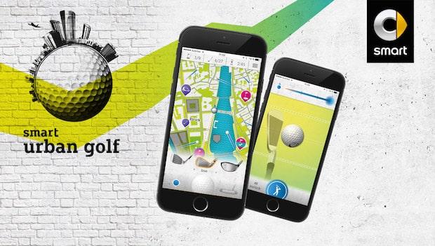 "Photo of Neue Mixed Reality App ""smart urban golf"" bringt Stadt-Golf aufs Handy"
