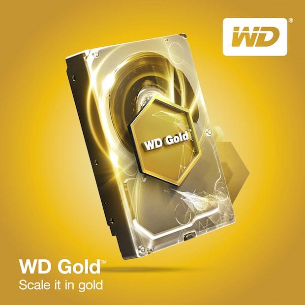 Photo of Western Digital erweitert Kapazitäten der WD Gold Festplatten um 25 Prozent