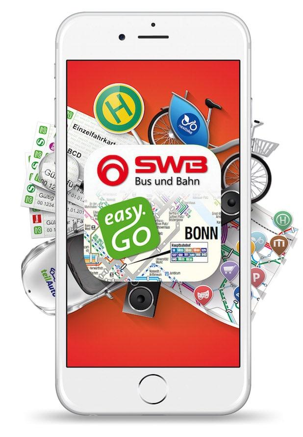 Photo of SWB easy.GO:  Erste App für Bezahlung von Bus&Bahnticket mittels PayPal