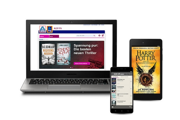 Photo of Über eine Million Bücher vom Topseller bis Lieblingsroman: ALDI life eBooks startet am 20. Oktober