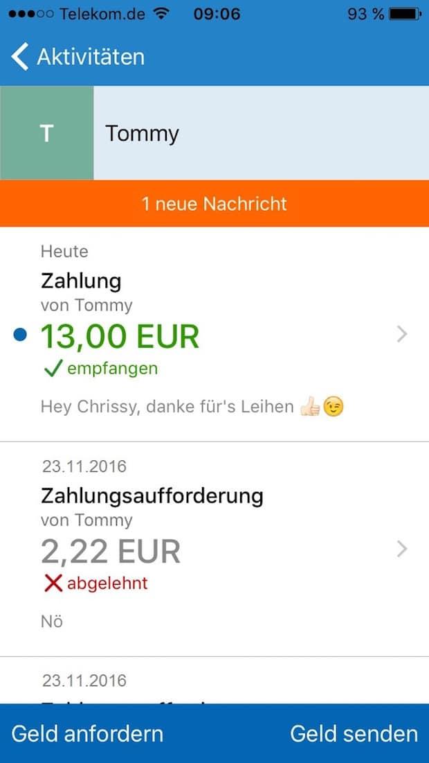 Photo of Handy zu Handy: Geldtransfer einfach per App