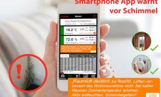 Smartphone-App warnt vor Schimmel