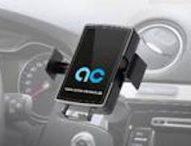 anton clemens präsentiert motorisierten Handyhalter