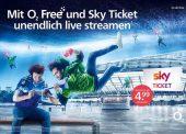 Sky-Ticket für O2-Kunden günstiger