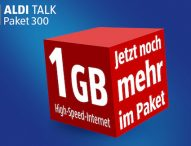 Jetzt noch mehr High-Speed-Internet im Paket: ALDI TALK erhöht Datenvolumen im ALDI TALK Paket 300