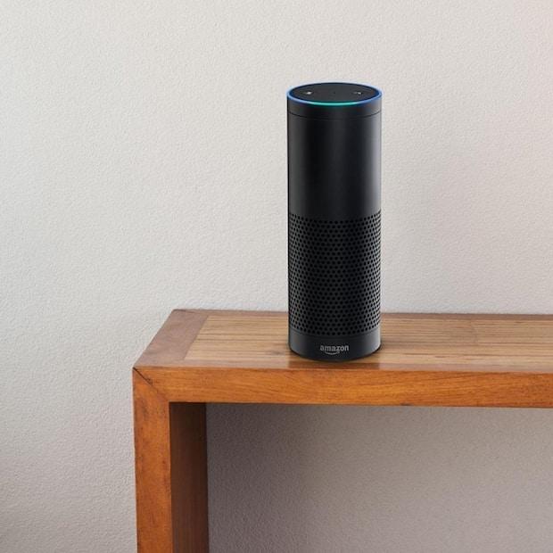 Photo of Alexa, der cloud-basierte Sprachdienst im Hotelzimmer.