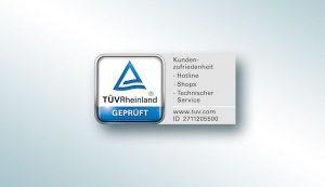 Telekom Service vom TÜV zertifiziert