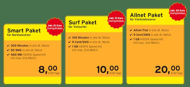 Photo of Ab 23. Mai bei congstar: Drei neue Prepaid-Pakete mit mehr Speed