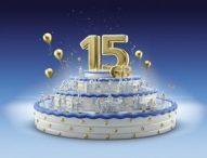 Geburtstagsaktion zu 15 Jahren O2: O2 Free 15 mit 15 GB für nur 29,99 Euro