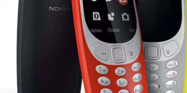 Nokia 3310 2017er Version Ende Mai im Handel