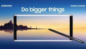 Jetzt bei O2 – das neue Samsung Galaxy Note 8