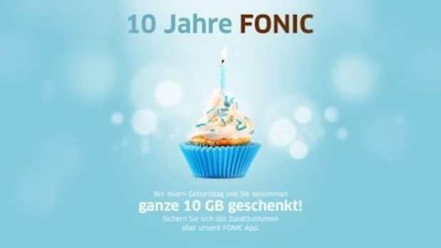 FONIC Kunden erhalten 10 GB geschenkt