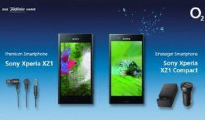Sony Xperia XZ1 mit gratis Zubehör