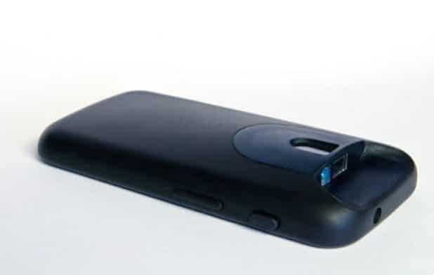 Neue Scan-Hülle für ausgewählte Android-Smartphones