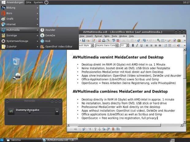 AVMultimedia mit neuem Design