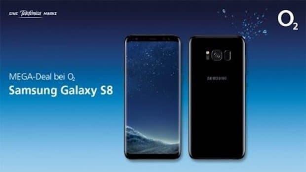 MEGA Deal: Das Samsung Galaxy S8 und O2 Free zum Sonderpreis