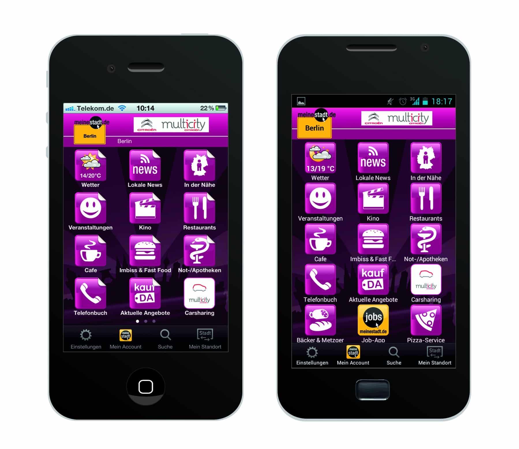 "Photo of Neues mobiles Werbeformat: ""Branding Week"" in der App von meinestadt.de"