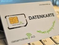 Datamobile Datenkarte senkt die Internet-Tarife für mobiles Surfen