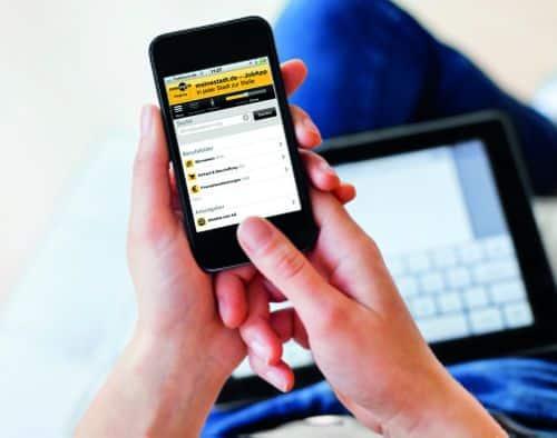 """Photo of meinestadt.de bringt """"Job App"""" für die mobile Jobsuche auf den Markt"""