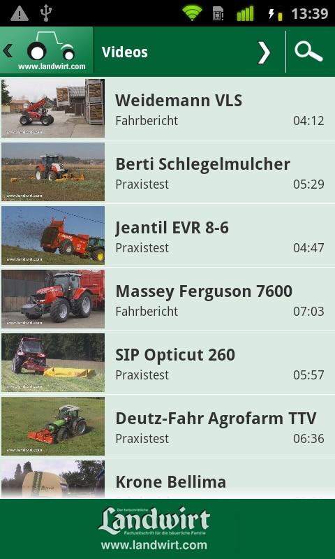 Photo of Landmaschinensuche über Mobiltelefone